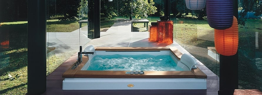 spa wellness jacuzzi ogrodowe
