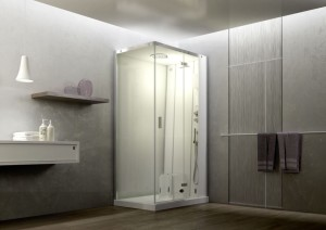 wellness jacuzzi prysznic