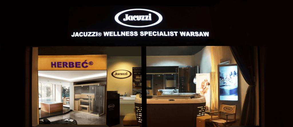showroom jacuzzi lokalizacja - warszawa